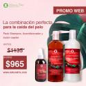 Pack Shampoo Acondicionador y Loción Capilar