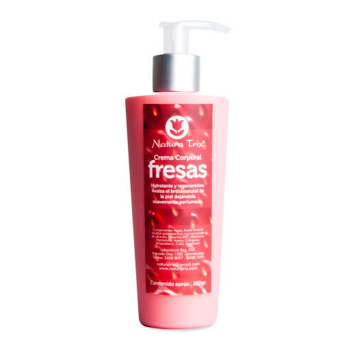 Crema Corporal Fresas