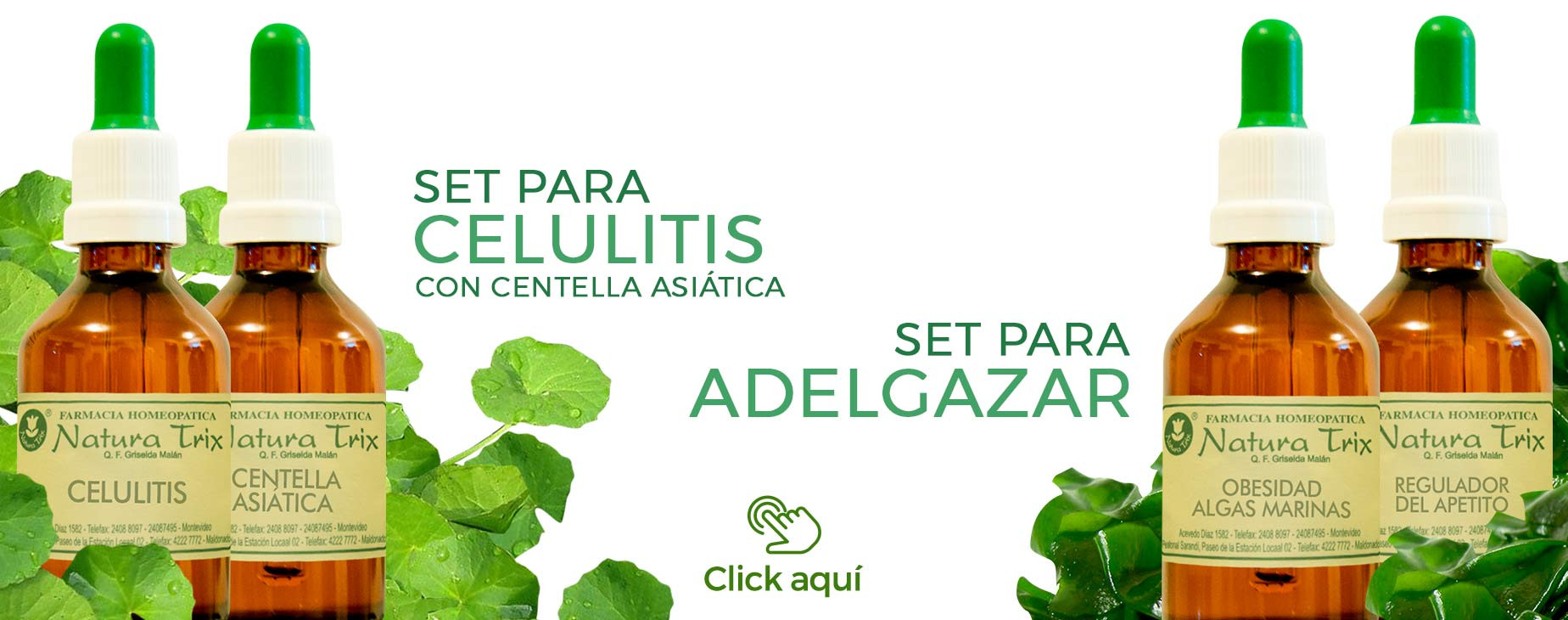 Set para celulitis y adelgazar